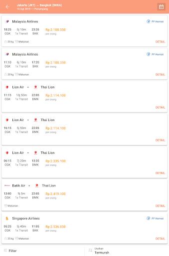 Pegipegi - Beli Tiket Pesawat, Hotel, Kereta & Bus screenshot 14