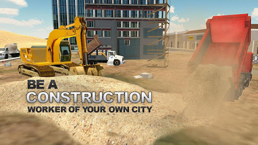 Heavy Excavator Construction Simulator PRO screenshot 3