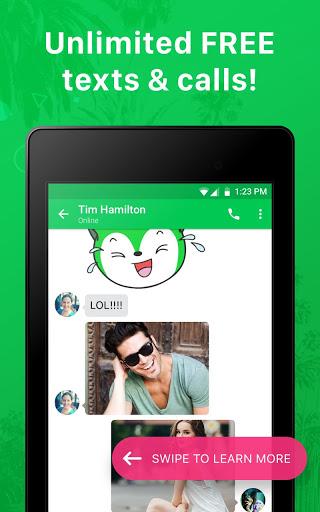 Nextplus Free SMS Text   Calls скриншот 8