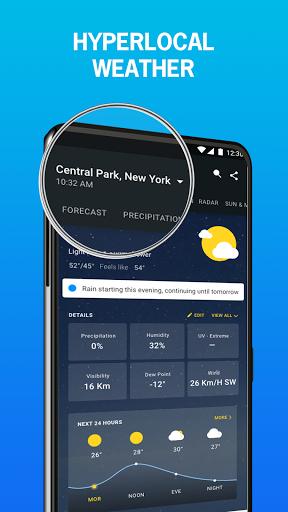 1Weather: Forecasts, Widgets, Snow Alerts & Radar 5 تصوير الشاشة
