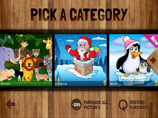 Kids' Puzzles 5 تصوير الشاشة