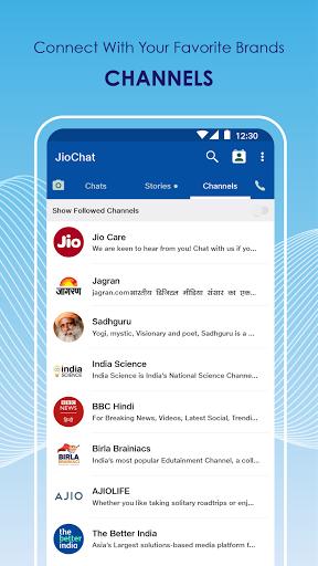 JioChat: HD Video Call screenshot 5