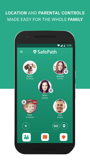 SafePath Family screenshot 1