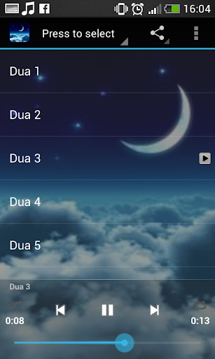 Dua Islamic Ringtone screenshot 7