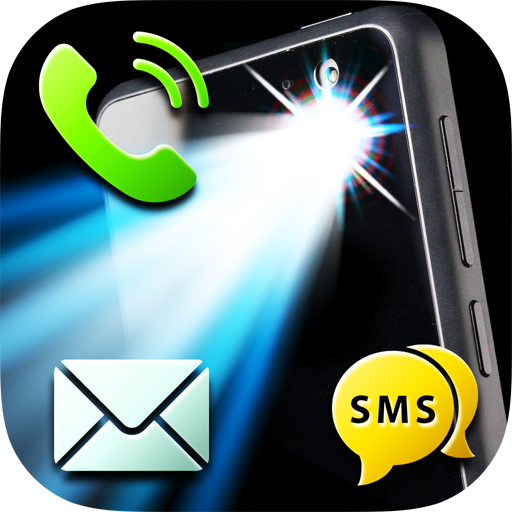 LED Flash Alerts on Call & SMS icon