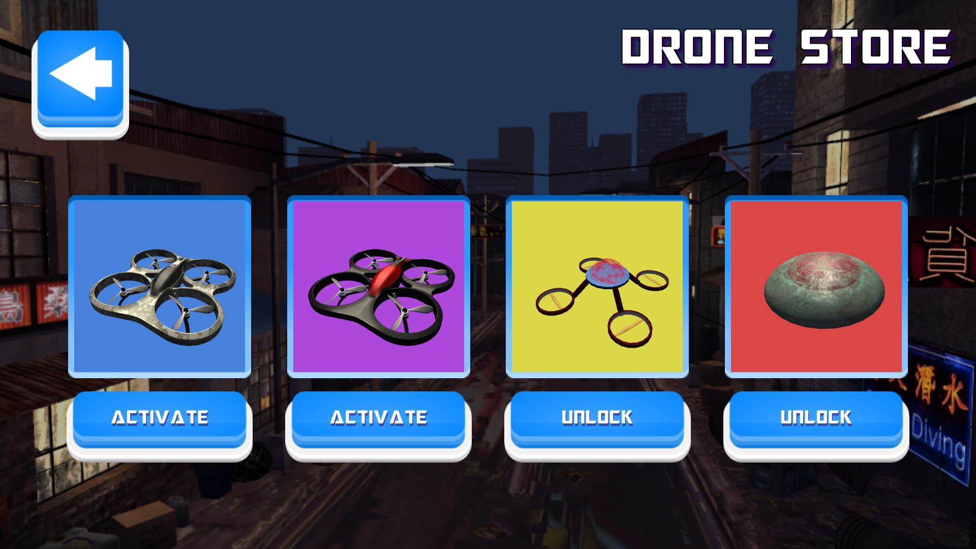 Drone Racing 4 تصوير الشاشة