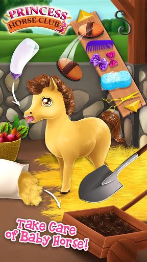 Princess Horse Club 3 - Royal Pony & Unicorn Care screenshot 2