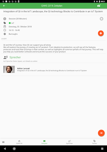 Qt World Summit 2019 Conference App screenshot 11