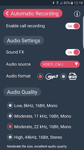 Call Recorder - Automatic Call Recorder - callX screenshot 7