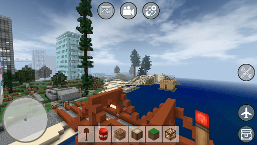 Mini Block Craft screenshot 1