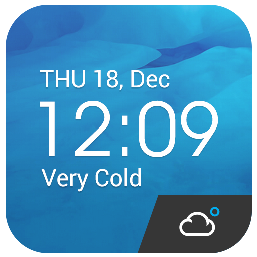 Z Style Weather Widget أيقونة