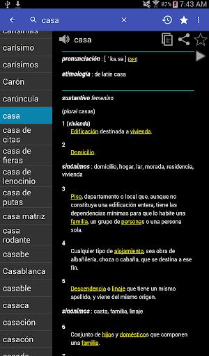 Spanish Dictionary - Offline screenshot 11