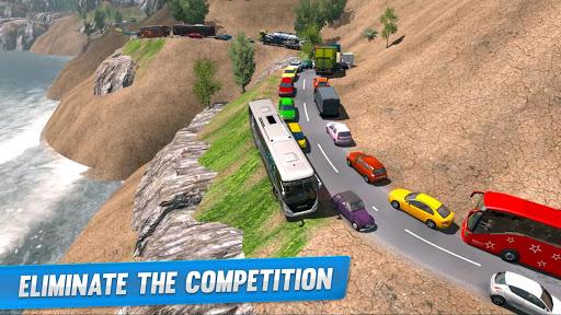 Offroad Hill Climb Bus Racing 2020 screenshot 1