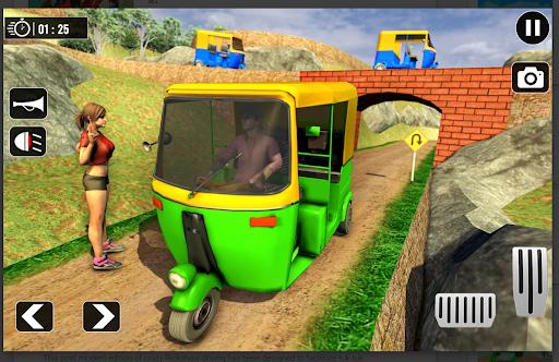 Tuk Tuk Rickshaw: Free Driving Games screenshot 8