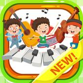 Music kids - Songs & Music Instruments أيقونة