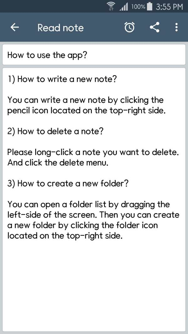 ClevNote - Notepad, Checklist screenshot 3