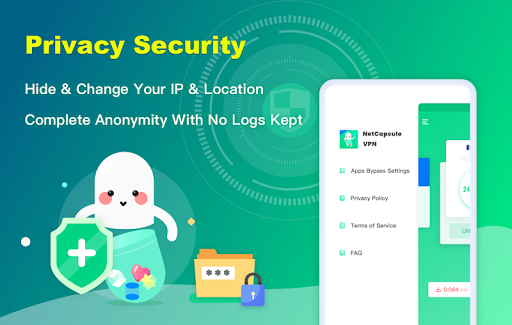 NetCapsule VPN | Free VPN Proxy, Fast VPN, Unblock screenshot 5
