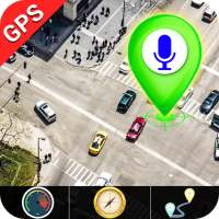 GPS Satellite - Live Earth Maps & Voice Navigation on 9Apps