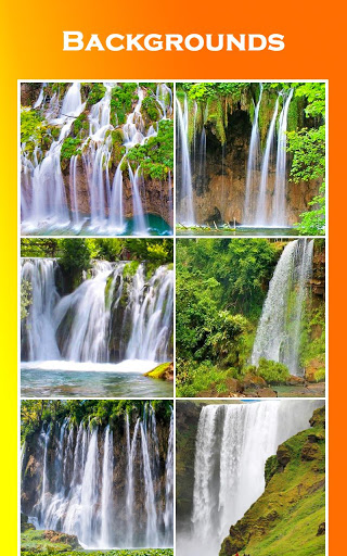 Waterfall Photo Editor - Photo Frames 16 تصوير الشاشة