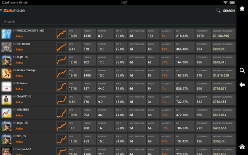 ZuluTrade - Copy Trading Platform 17 تصوير الشاشة