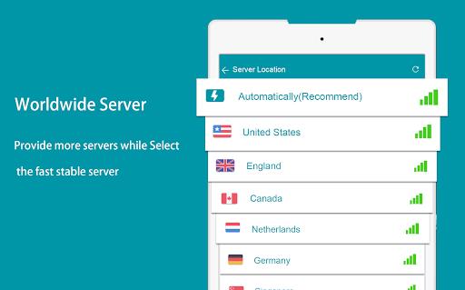 Thunder VPN - Fast, Free VPN by Signal-Lab स्क्रीनशॉट 5
