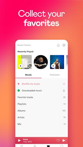 Deezer Music Player: Songs, Playlists & Podcasts screenshot 7