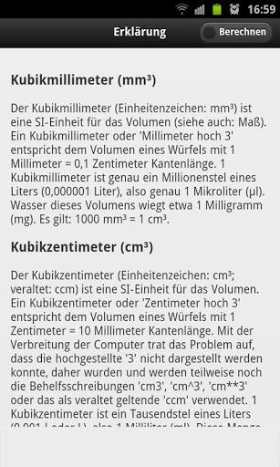 Unit of Volume Converter screenshot 2