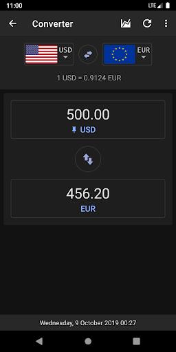 Exchange Rates & Currency Converter 2 تصوير الشاشة