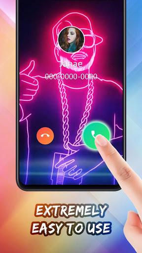 Color Call Flash- Call Screen, Color Phone Flash screenshot 4