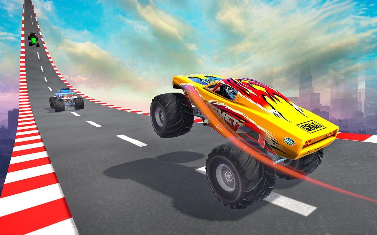 Monster Truck on Impossible Tracks screenshot 2