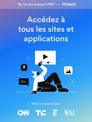 Hotspot Shield Gratuit VPN Proxy & Sécurité WiFi screenshot 6