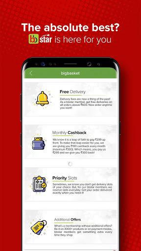bigbasket - Online Grocery Shopping App скриншот 3