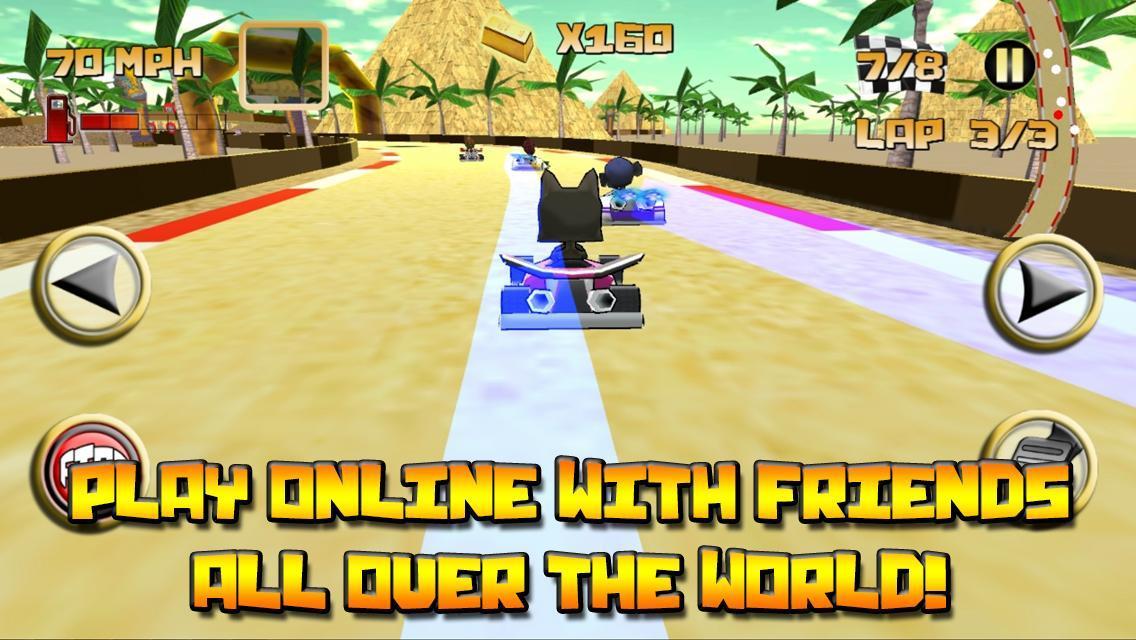 Kartoon Racing Driver simulator 3 تصوير الشاشة