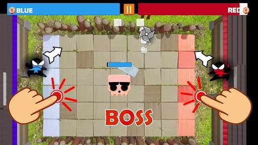 Jumping Ninja Party 2 Player Games screenshot 9