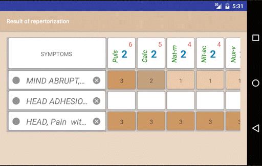 Homoeopathic Repertorium screenshot 3