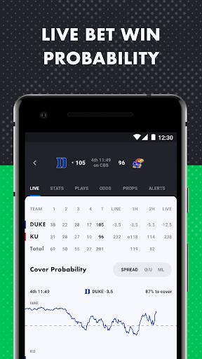 The Action Network: Sports Scores & Live Tracker 4 تصوير الشاشة