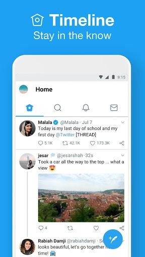 Twitter Lite screenshot 2