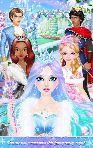 Princess Salon: Frozen Party screenshot 15