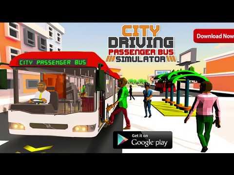 City Driving Coach Passenger Bus Simulator 3D screenshot 1