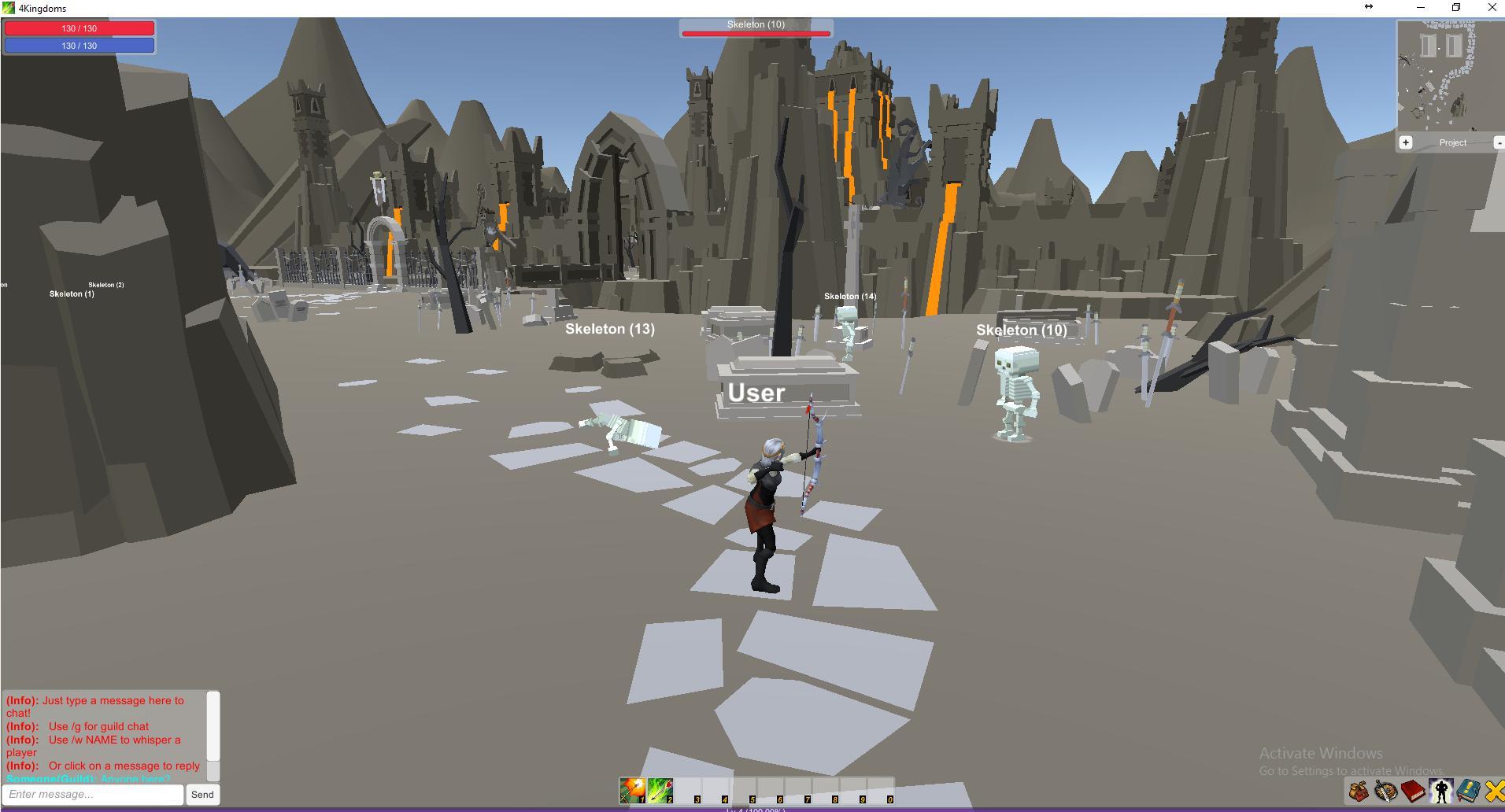 4 Kingdoms MMORPG Online screenshot 4