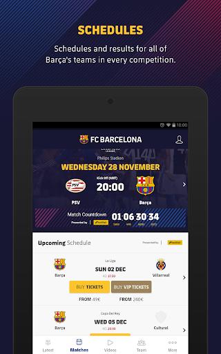 FC Barcelona Official App 14 تصوير الشاشة