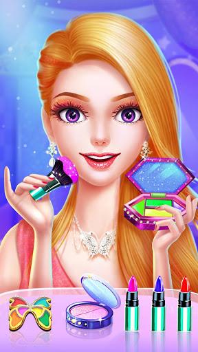 💄👗Cinderella Fashion Salon - Makeup & Dress Up screenshot 2