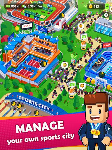 Sports City Tycoon - Idle Sports Games Simulator screenshot 9