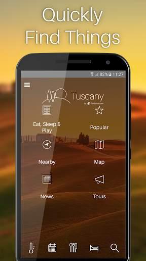 Tuscany Travel Guide screenshot 1