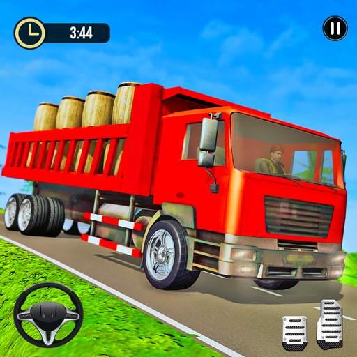Offroad Truck Driver Cargo:3D Truck Driving Games