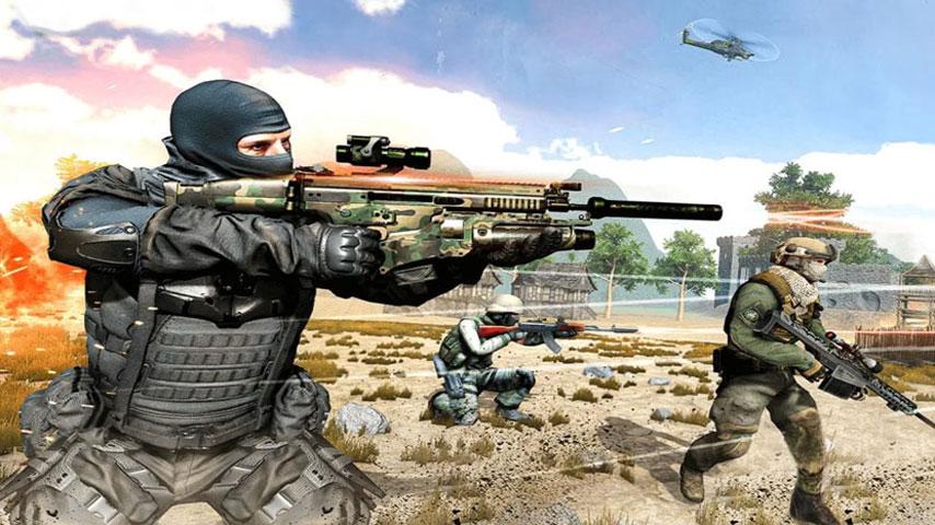 FPS Critical Strike War Attack screenshot 4