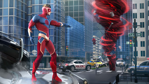 Hurricane Superhero : Wind Tornado Vegas Mafia screenshot 1