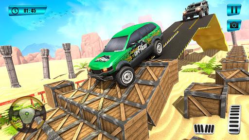 Offroad Mountain Car Parking screenshot 3