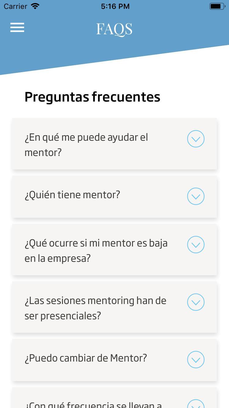 Minsait Mentoring screenshot 8