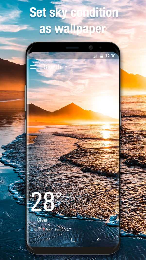 3D Weather Live Wallpaper for Free screenshot 8
